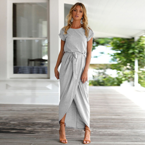 8b7ad7febc62 Boho midi maxi summer elegant sun dress NWOT